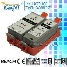 Hot printer ink cartridge 35&36 compatible ink cartridge for Canon inkjet printer