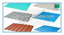 corrugated pvc plastic sheet