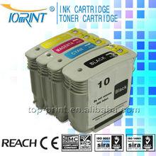 Hot!!!Popular compatible ink cartridge HPQ 10#/11# for HP printer inkjet