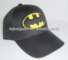 bat man children baseball cap/ caps and hat for children