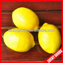 wholesale artificial lemon artificial fruit fake fruit for decoration