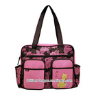 Good price multifunctiona diaper bag with change pad and wet pad