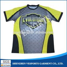 Custom softball tshirt for fastpitch league teams