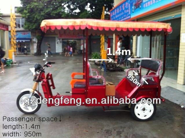 Electric rickshaw for sale --three wheels motorcycle, rickshaw, bajaj,3 wheels passenger car