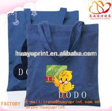 ecol organic cotton shopping bag /customized printed small cotton bag AT-1037