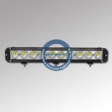 Led light bar A1 100W (17 Inch) offroad light bar 9-60v 7500lm flood spot combo