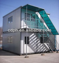 Portable ISO container house for hotel