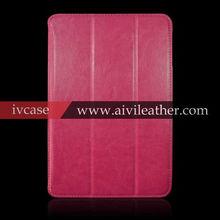 For Apple ipad mini hot leather case, genuine leather case for ipad mini