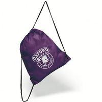 New recycle plain blank ripstop nylon cinch drawstring bag