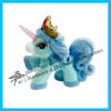 Little flocking toy animal,pvc plastic children's toys