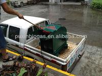 Industrial use green waste shredder