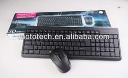 2015 New Fashion 2.4 G Wireless Suit Ultra-thin Wireless Keyboard Mouse Combo