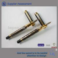 Beautiful Design Luxury Metal Fountain Pen Ink