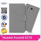 Mobile Phone Wallet Case For Huawei Ascend G510 U8951