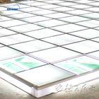raised floor lighting glass floor system for trade show service