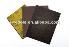 latex backing abrasive paper sheet