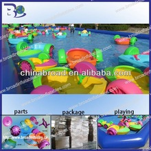 HOT!! aqua paddle boat,kids hand electric paddle boats for kids