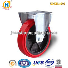 Rigid Heavy Duty Industrial Caster with PU wheel