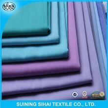 65%/35% polyester/cotton printed plain tc poplin fabric