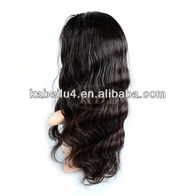 hightest quality human hair full lace wigs for white women