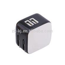 Forza 5.0V / 3.1A Folding Dual USB Charger