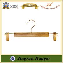 Top Grade Gold Plating Plastic Clips Hanger for Pants