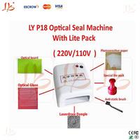 mini/family sealing/stamper machine,photosensitive machine,LY P18 Optical seal machine with lite pack