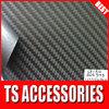 TSAUTOP RoHS certificate 1.52*30m air Free bubbles dark grey 3D carbon fiber wrap roll sticker for car auto