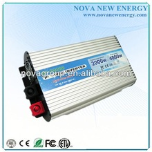 2000w single phase CE approved grid tie solar power inverter