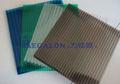 policarbonato com efeito de estufa agrícola usado