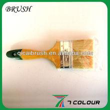 3'' High quality wooden handle paint brush set,hard bristle brush,ceiling brush