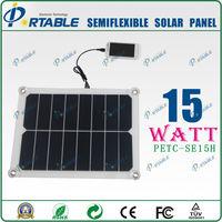 Hot Sale flexible 12V solar car battery charger/Solar Charger /solar panel for phone,battery,tablet,laptop