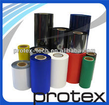 Colorful Thermal Transfer Resin Ribbon(Red, Blue, Green, Silver, Gold)