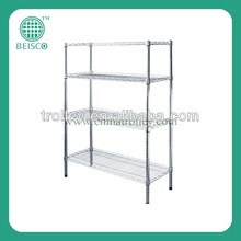 durable chrome wire shelving for home, office, warehouse storage