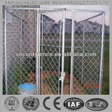( 10 years manufacturer ) Galvanized & chain link dog kennel