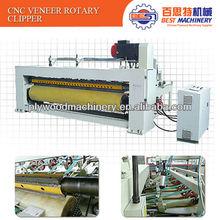 CNC rotary clipper for wood veneer