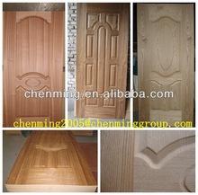 moulded HDf veneer door skin