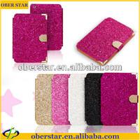 diamond bling rhinestone cover for iPad mini 2 leather case with retina