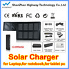 New Coming Polyester Solar Panel Solar Charger For Laptop