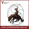 Wrought iron wall art horse decorations