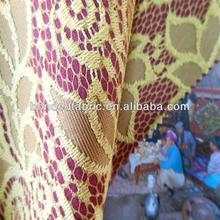 Fashionable brushed fleece lace bonded fabric