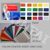 PE PVDF color coated aluminum sheet and coil