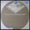 sinterlenmiş titanyum gözenekli levha filtre