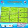 Silk screen printing serial number sticker labels , self adhesive serial number labels , self adhesive label