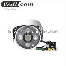 Hi focus cctv ir 720p poe outdoor usb 6 led webcam camera pc laptop mic