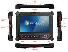 8 inch Rugged mobile tablet pc with MSR, Bar code scanner,Smart Card reader, RFID, GPS, 3G,IP65