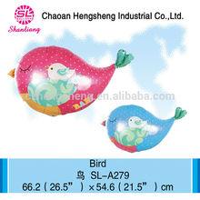 2015 popular child toys bird shaped balloons
