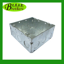 Hot Welded electrical junction boxes,metal switch box