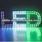 High Brightness white red green 546 Oval LED,for LED Diplayer,2500~3000mcd /Sombrero de paja blanco de 5mm de LED
