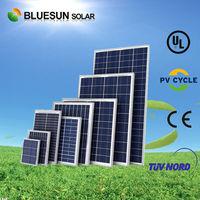 Customized design high efficiency 50w poly solar modules